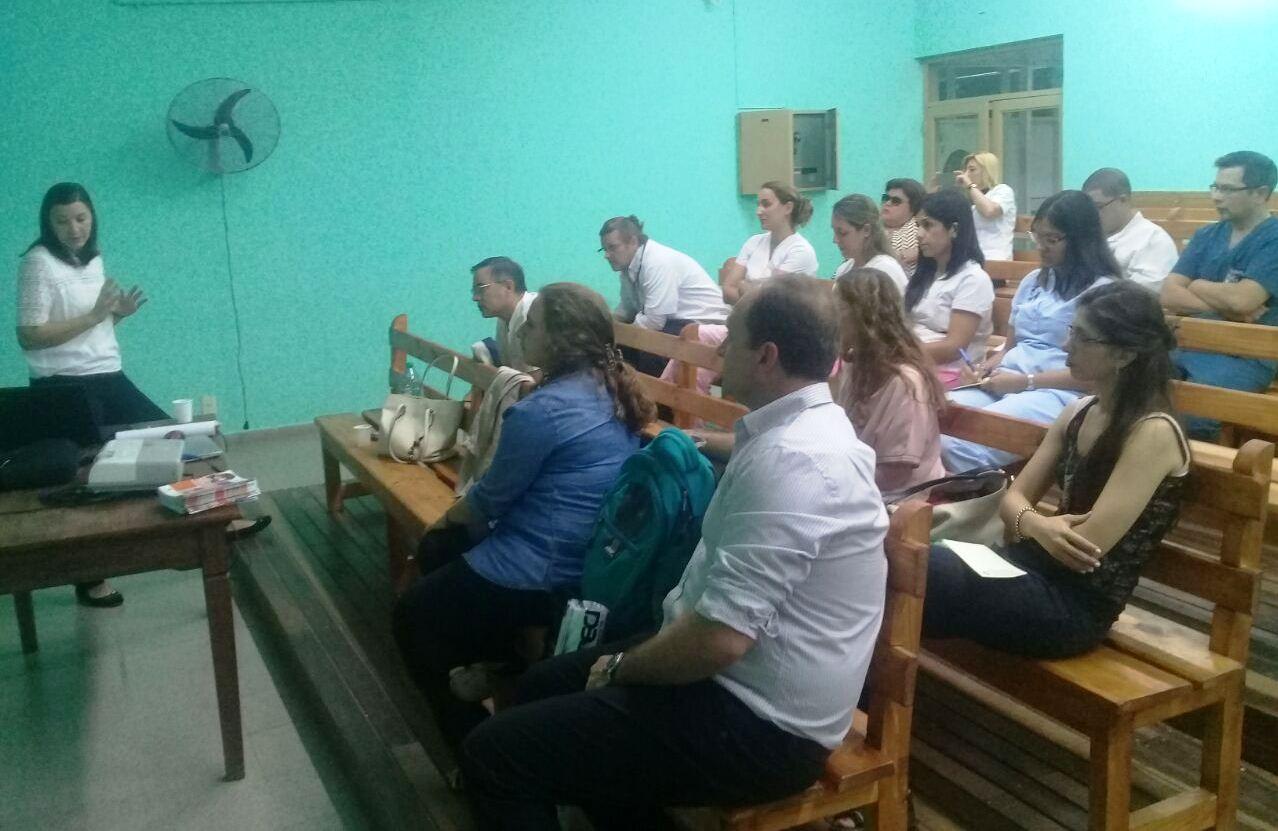Salud Pública brindó una capacitación sobre cardiopatías congénitas en Goya