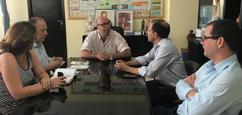 Paso de los Libres: el Defensor del Pueblo programa actividades  de promoción de derechos con el Intendente Ascua