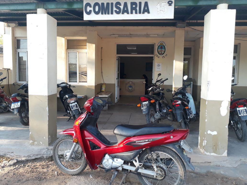 Recuperan una Motocicleta recientemente sustraída