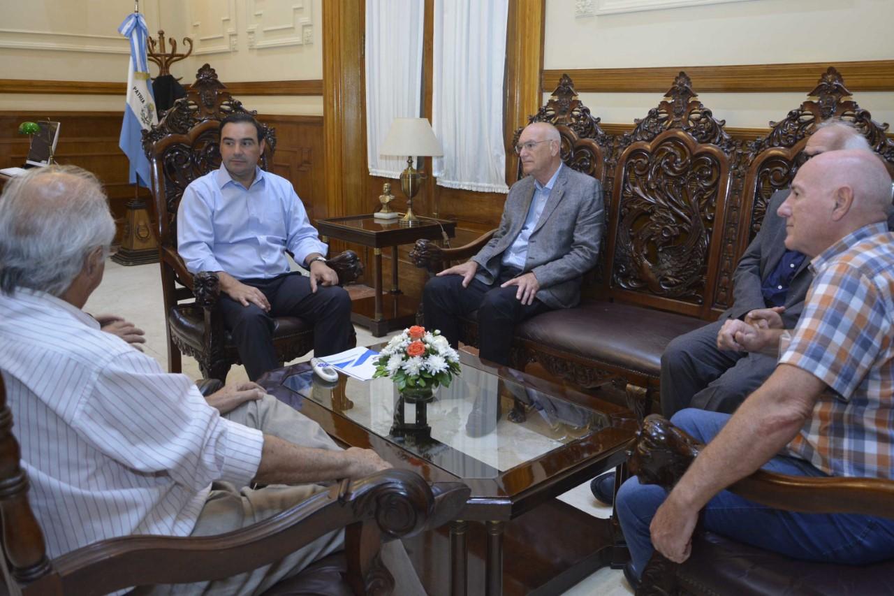 Valdés analizó junto a la directiva de APICC la situación del comercio en Corrientes