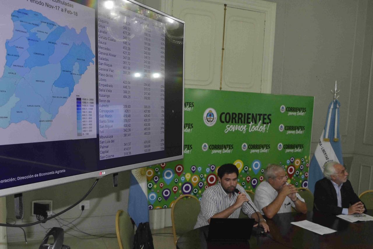 Declararon la Emergencia Agropecuaria en los departamentos  de Esquina, Sauce, Monte Caseros y zona sur de Curuzú Cuatiá