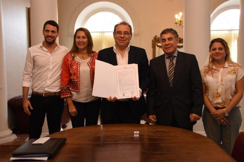La Municipalidad posibilitará prácticas profesionales para alumnos del Instituto Llano