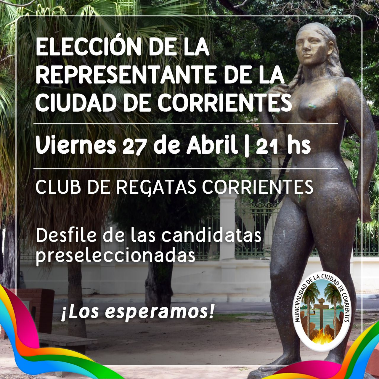 La Municipalidad de Corrientes evaluó los conocimientos en historia y cultura de las candidatas a representante de la Ciudad