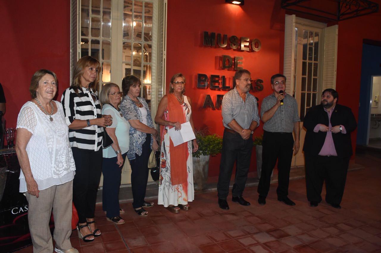 """Se habilitó la muestra """"Acuarelas de nuestra tierra"""" en el Museo de Bellas Artes"""