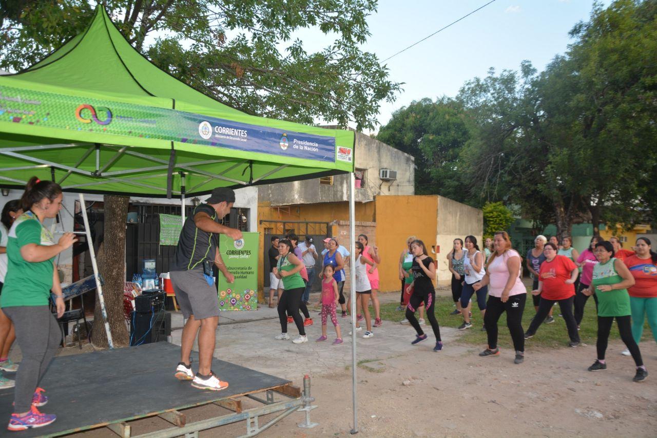 El Gobierno Provincial con un programa de entretenimiento junto a los vecinos de la ciudad