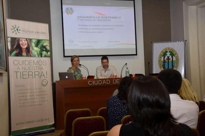 Funcionarios municipales se capacitaron en desarrollo sostenible