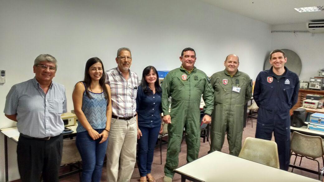 Ciencias Exactas trabaja en conjunto con la Fuerza Aérea Argentina