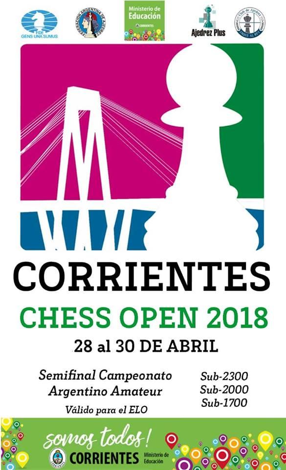 Llega el Corrientes Chess Open 2018