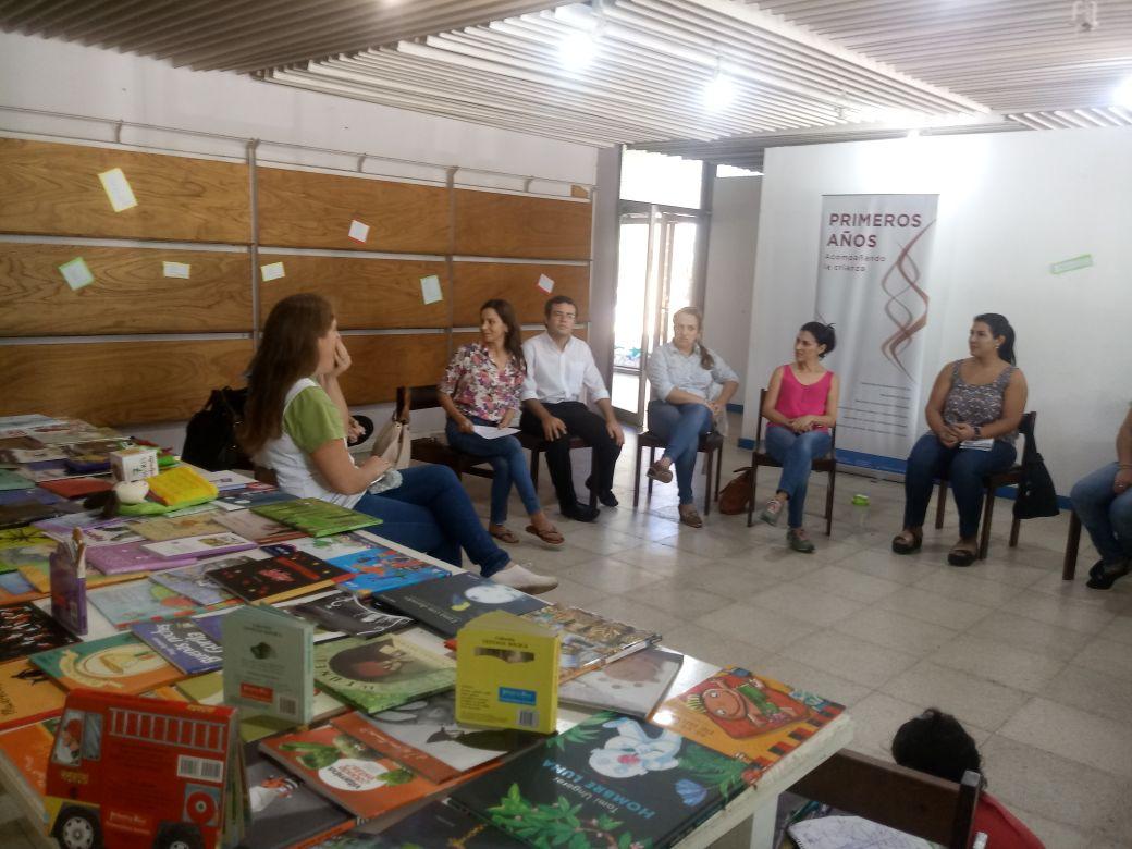 Capacitación a facilitadores en Ituzaingó