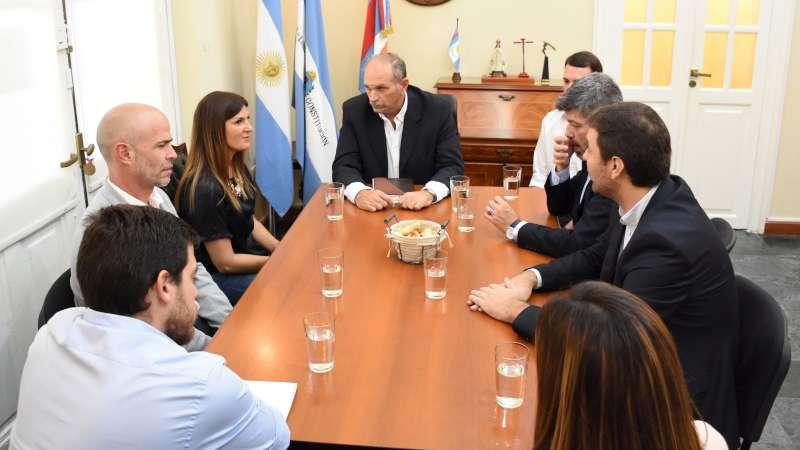 Funcionarios nacionales y municipales avanzan en la planificación de proyectos sociales