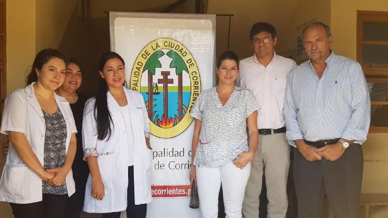 Actividades de promoción y prevención de cáncer de cuello uterino en el barrio Itatí