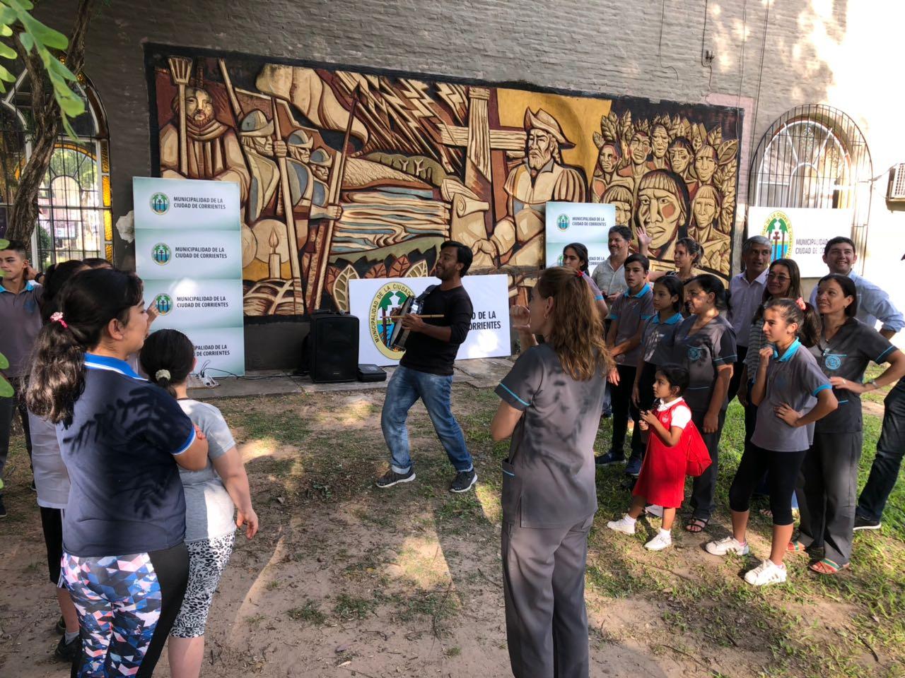 La Municipalidad comenzó los ensayos de la obra de teatro inclusivo y comunitario