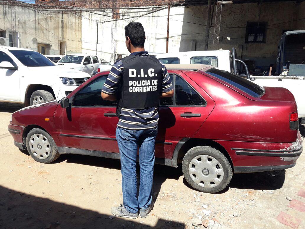 Localizan un vehículo que registró pedido de secuestro en Buenos Aires