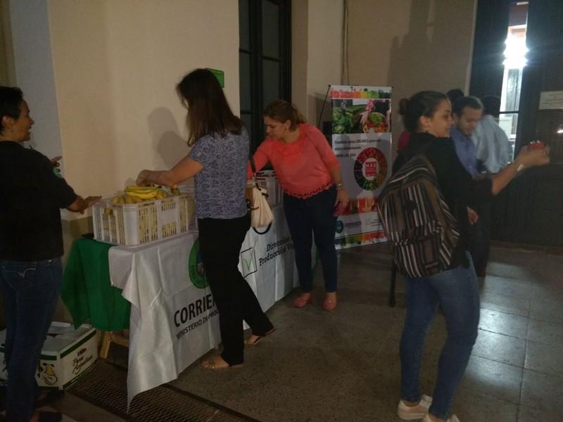Nueva Mesa de Promoción para el consumo de  frutas en el Ministerio de Producción