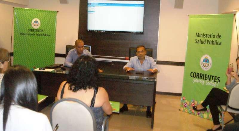 Salud Pública capacitó a personal de admisión de CAPS de la capital