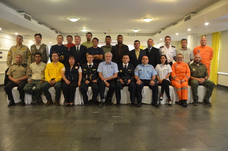 Participaron del III Curso Internacional  de Gestión en Protección Contra Incendios Forestales