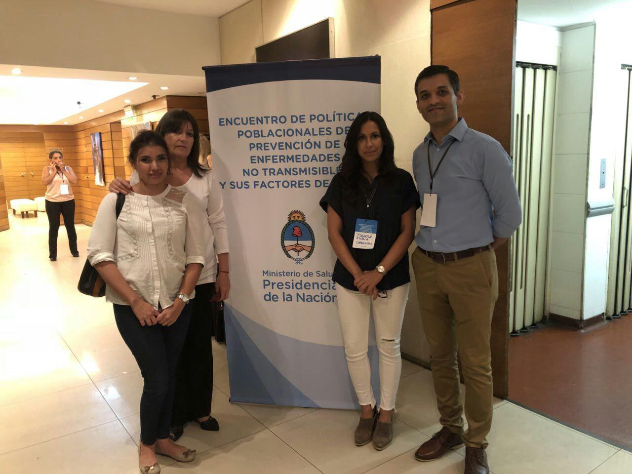 Corrientes participó del Encuentro de Políticas Poblacionales