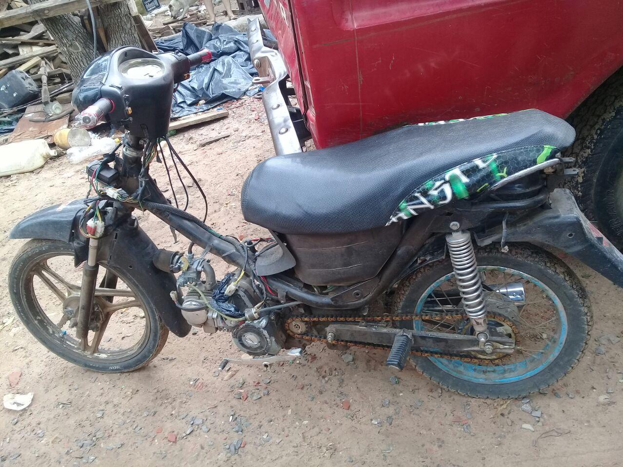 Demorado y motocicleta secuestrada durante tareas de prevención