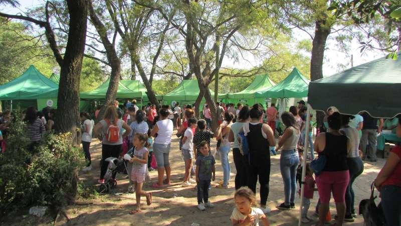 Salud Pública brindó atenciones a vecinos del barrio Molina Punta