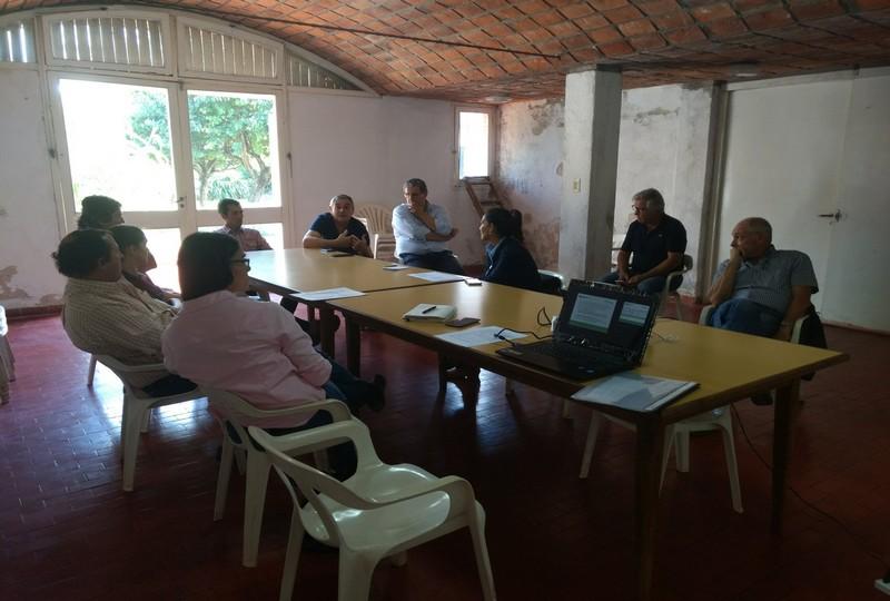 Reunión con productores sumados  al Proyecto en Bella Vista