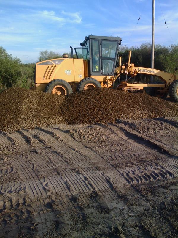 Avanza la obra de reconstrucción de la Ruta Provincial Nº 128 en Sauce
