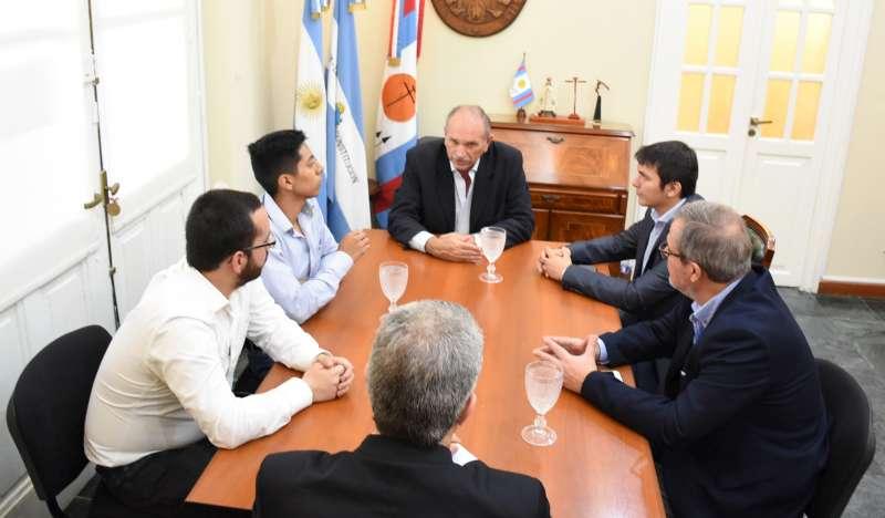 Nación, Provincia y Municipio trabajan por obras hídricas en la ciudad