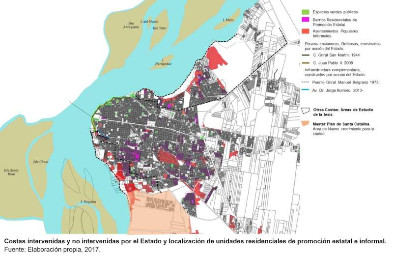 Identifican áreas con riesgo hídrico en la ciudad de Corrientes