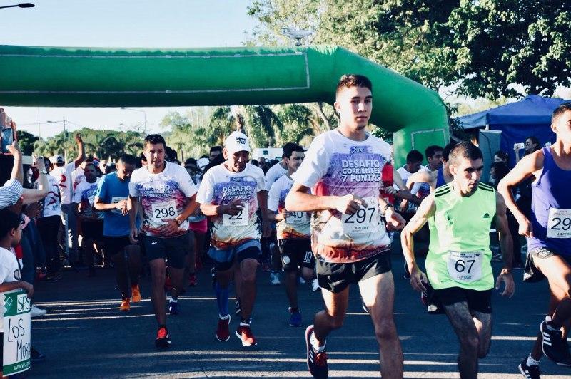 """Exitosa maratón """"Desafío Corrientes 7 Puntas"""" en la Costanera Sur"""