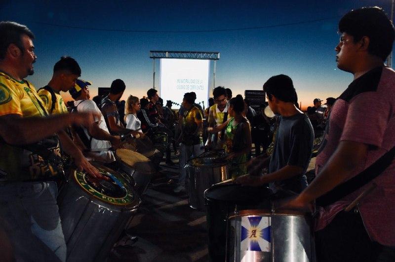 A puro ritmo se realizó la primera Clínica de carnaval en el club Boca Unidos