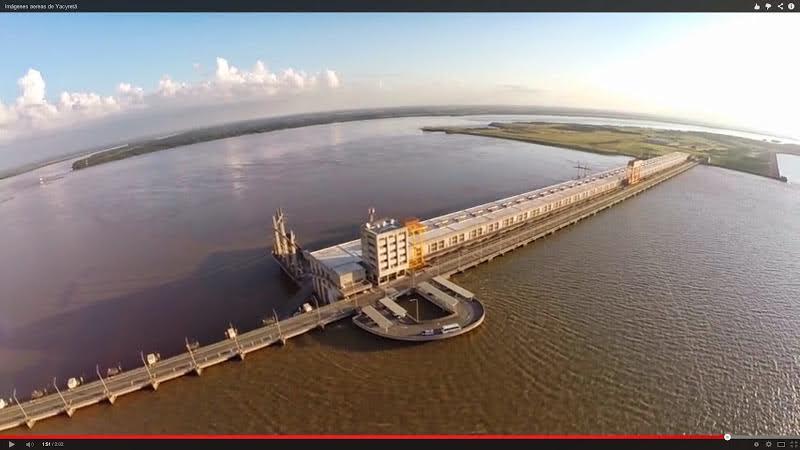 Estado del río Paraná al dia 23 de abril de 2018