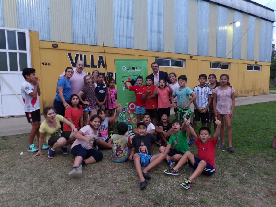 La Secretaría de Deportes visita las localidades del interior