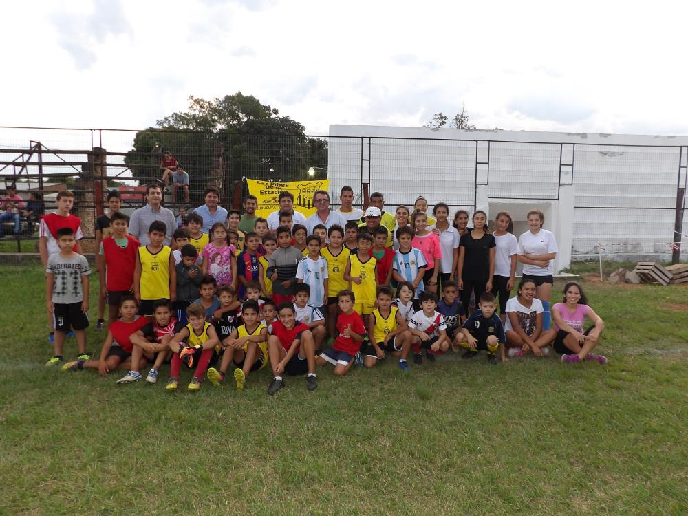 La Secretaría de Deportes visitó Santa Rosa, Tabay, Tatacuá y Mburucuyá