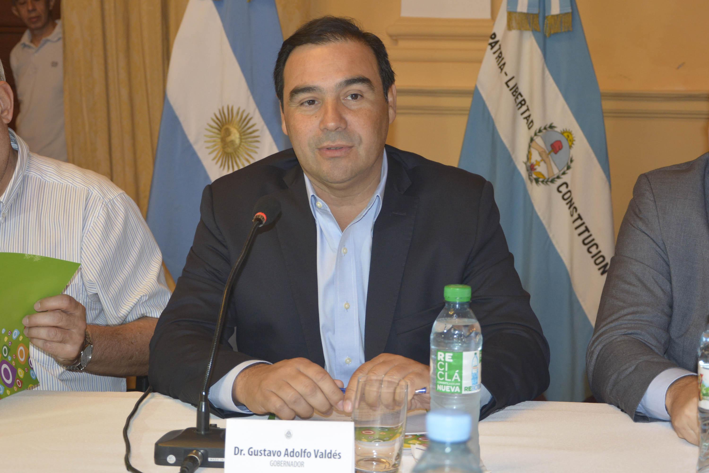 Valdés encabezó el segundo Encuentro de la Mesa Foresto Industrial