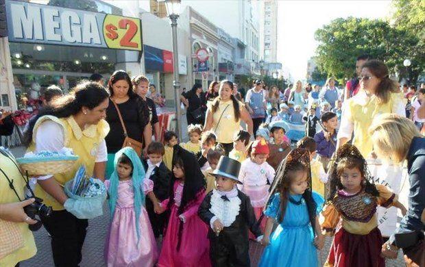 Los CDI Provinciales celebran el Día de la Patria con un desfile
