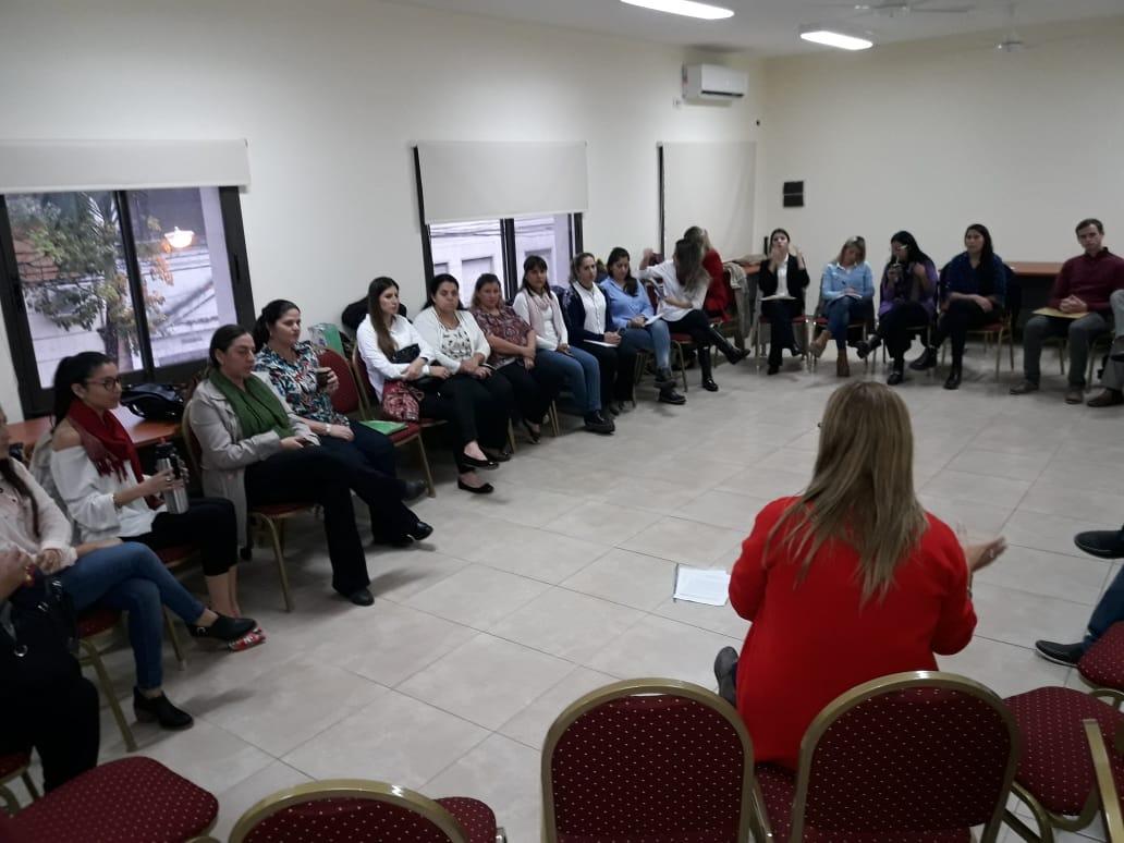Se dictó un taller para optimizar el Circuito Penal Juvenil