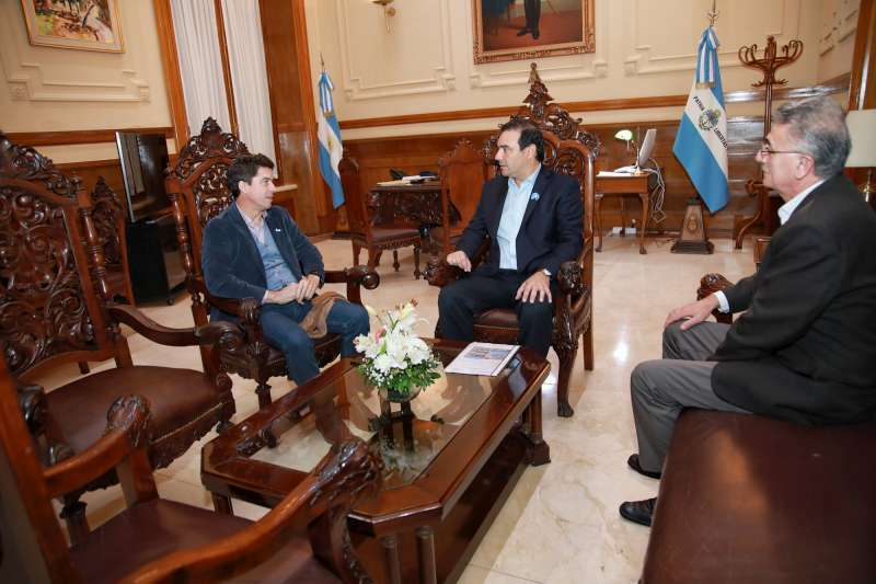 Valdés y Bereciartúa confirmaron importantes inversiones para Corrientes