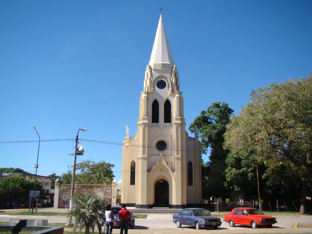 Empedrado: Concluyó la obra de refacción y  revalorización de la iglesia Nuestro Señor Hallado