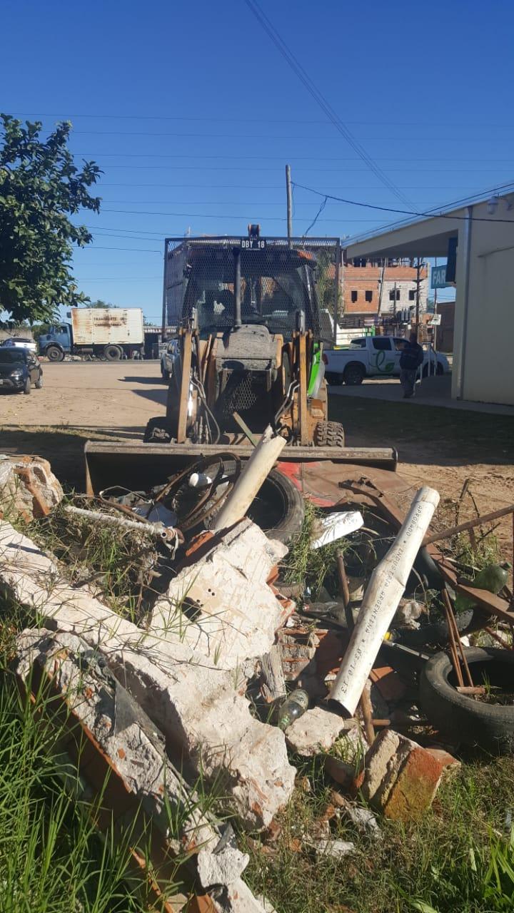 Descacharrado, la Municipalidad ya estuvo presente en 60 barrios