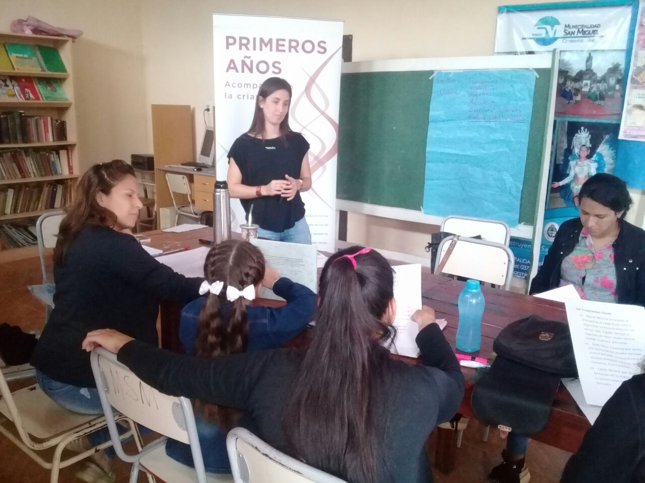 Avanza con éxito el trabajo con familias vulnerables en San Miguel