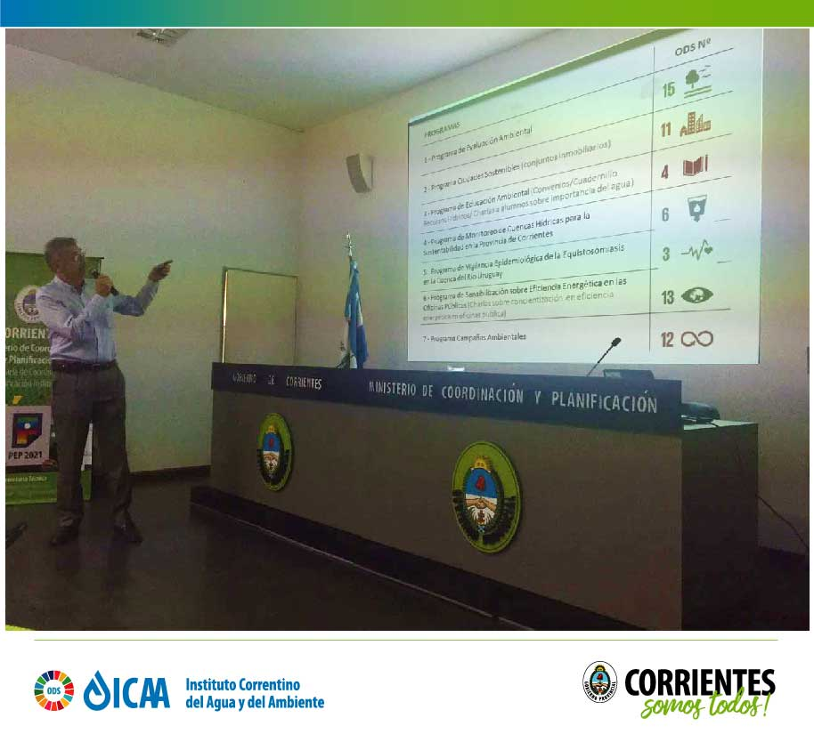 El ICAA presentó Programas ODS en taller Estrategias de Planificación