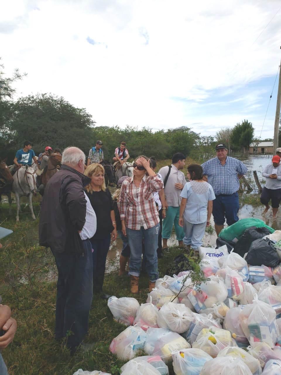 El Estado presente junto a los pobladores de San Isidro