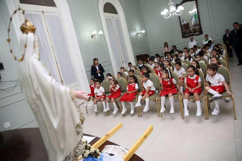 La Virgen de la Misericordia visita Casa de Gobierno