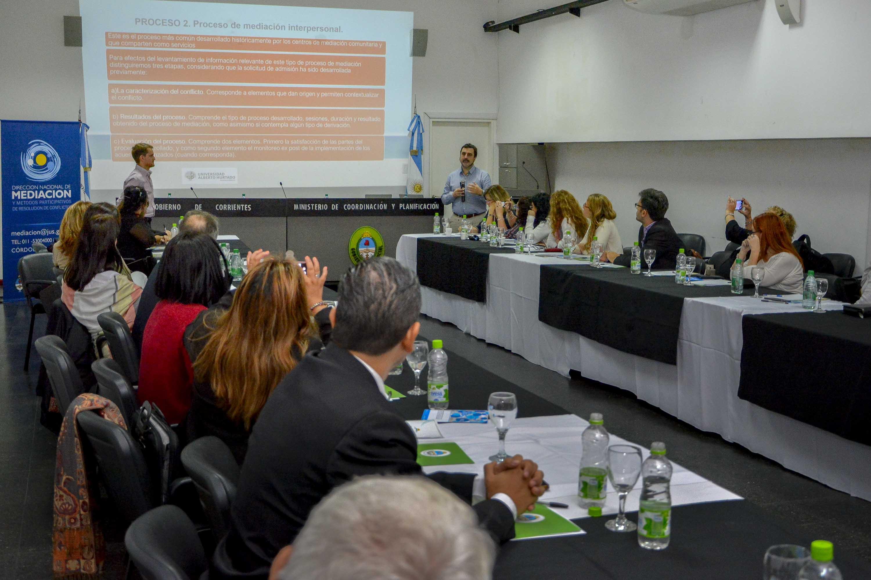 Se lleva adelante el Encuentro Nacional de  Mediación 2018 en la ciudad de Corrientes