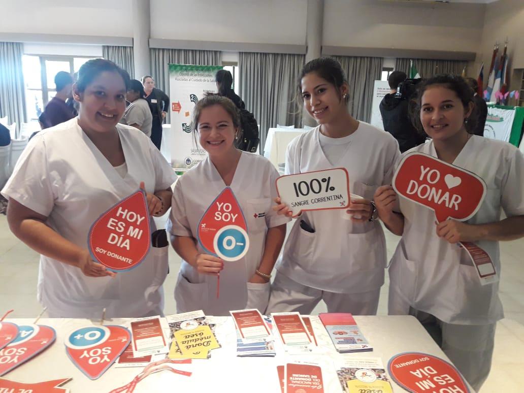El Banco de Sangre participó de la jornada por el Día del Enfermero