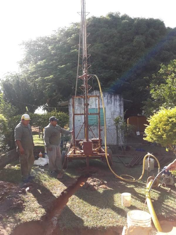 El Plan Aguas avanza con sendas obras  en los parajes Arerunguá e Ibahay
