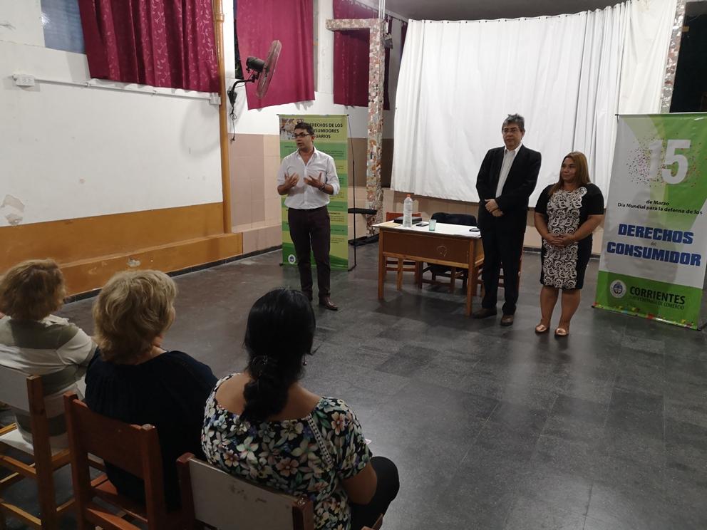Las charlas sobre defensa al consumidor se trasladan a Santa Lucía y Colonia 3 de Abril