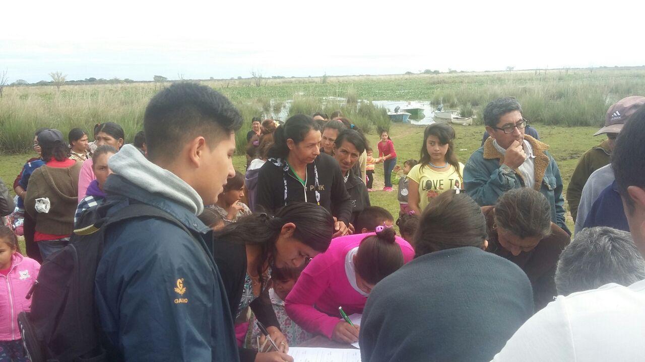 La Delegación Goya de Desarrollo Social de la Provincia asistió a vecinos