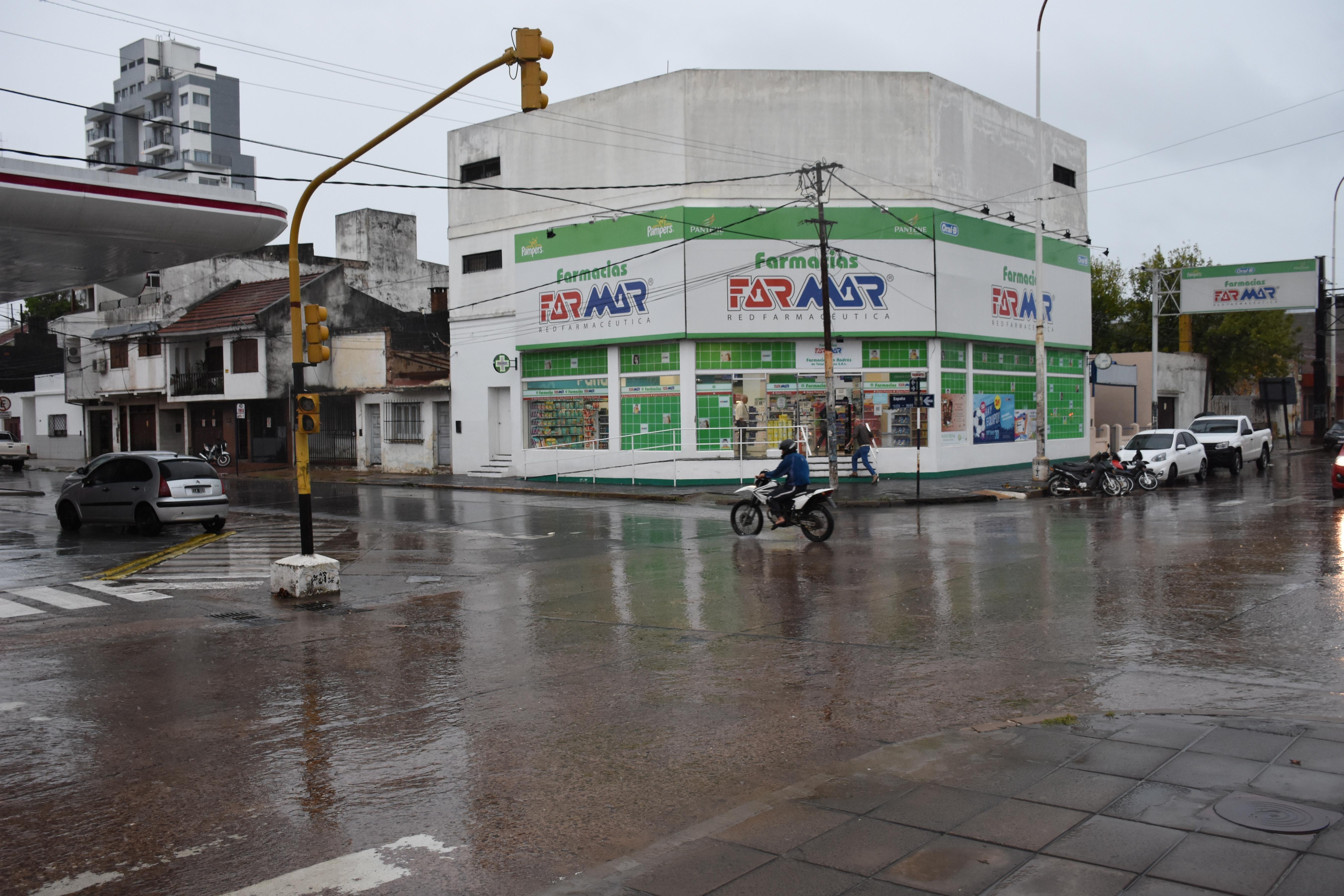 Corrientes: tras las lluvias, el agua escurrió rápidamente