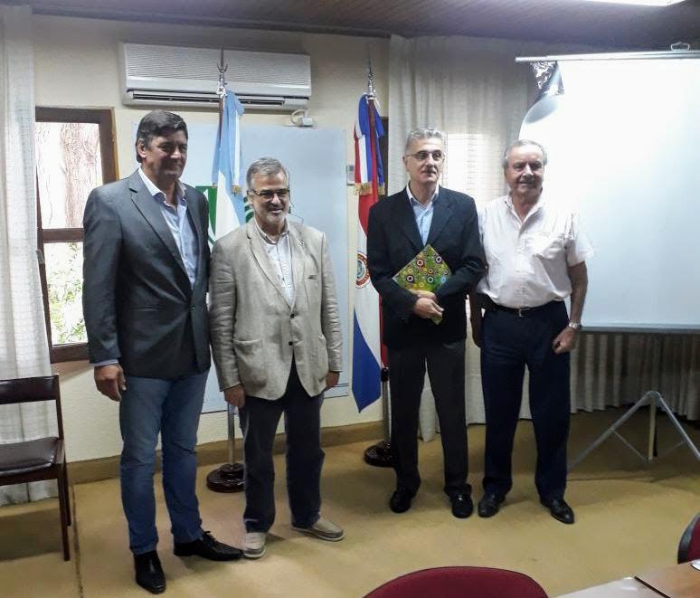 Ituzaingó recibió la normativa de Determinación de Línea de Ribera