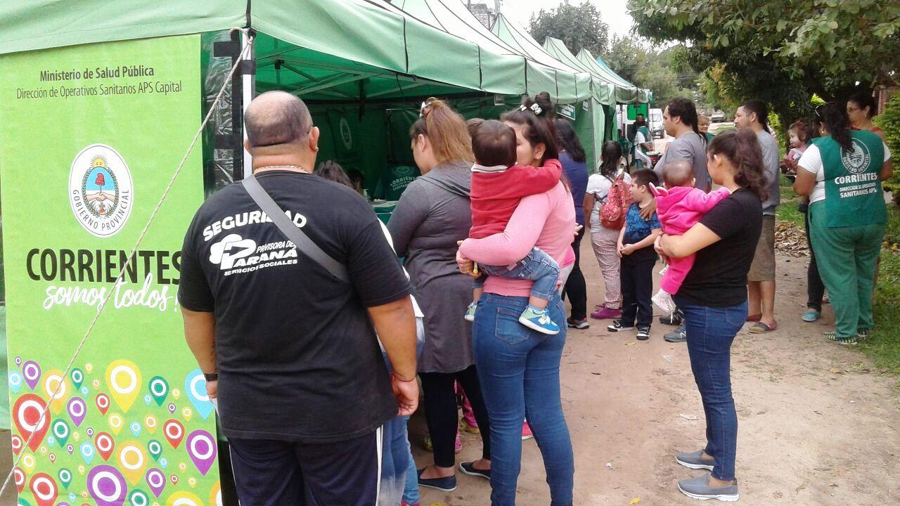 Salud Pública realizó un operativo integral en el barrio Sargento Cabral